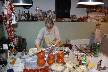 Preparation Cocina