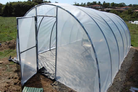new pvc greenhouse