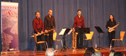 Saxophone quartet from A Cruna