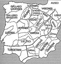 Galician tribe of Galleci Luceses
