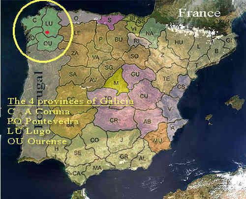 Galizien Karte.Leben In Galizien Wo Ist Denn Galizien Karten Und Erklärungen