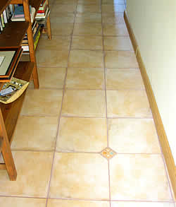 pattern of tiling