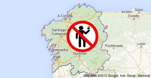 No selfies in Galicia