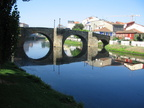 Along the river cabe - Medivial bridge - Monforte